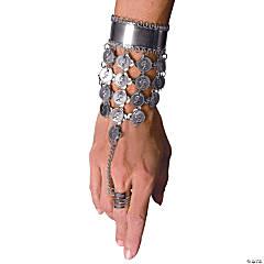 Silvertone Slave Bracelet