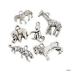 Silvertone Wildlife Charms