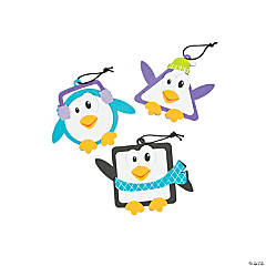 Simple Shape Penguin Ornament Craft Kit
