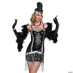 Simply Fab Flapper Costume for Women