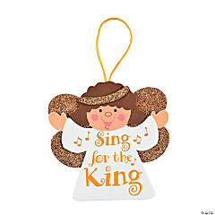 Sing for the King Angel Ornaments Craft Kit
