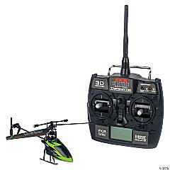 Single-Propeller RC Helicopter with LCD