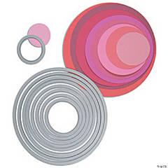Sizzix Framelits Dies 8/Pkg-Circles