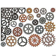Sizzix Thinlits Dies By Tim Holtz 22/Pkg-Gearhead