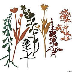 Sizzix Thinlits Dies By Tim Holtz 7/Pkg-Wildflowers #2