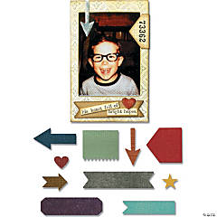 Sizzix Thinlits Dies By Tim Holtz -Pocket Frame