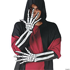 Skeleton Gloves & Wrist Bones