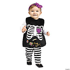 Skelly Belly Costume for Infant Girls