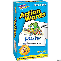 Skill Drill Flash Cards, Action Words - 96 cards per pack, 2 packs