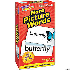 Skill Drill Flash Cards, More Picture Words - 96 cards per pack, 2 packs