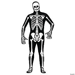 Skin Suit Skeleton Standard Adult Men's Costume