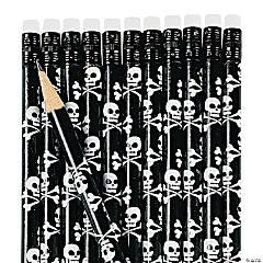 Skull & Crossbones Pencils