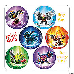 Skylanders™ Mini Dot Stickers