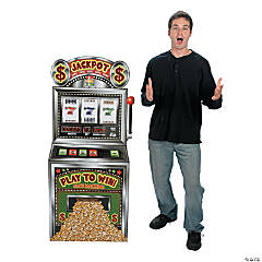 Slot Machine Cardboard Stand-Up