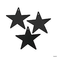 Small Black Metallic Stars - 5