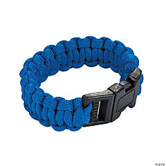 Small Blue Paracord Bracelets