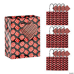 Small Casino Gift Bags with Tags