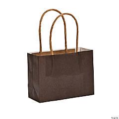 Small Chocolate Kraft Paper Bags