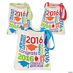 Small Class of 2016 Graduation Totes