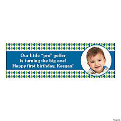 Small Golf Par-Tee Custom Photo Banner