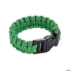 Small Green Paracord Bracelets