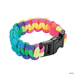 Small Multicolor Paracord Bracelets