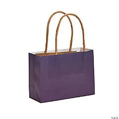 Small Plum Kraft Paper Gift Bags