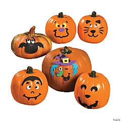 small pumpkin face craft kit