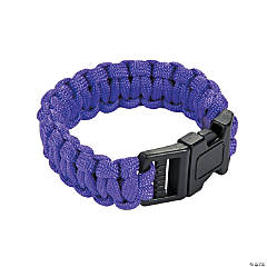 Small Purple Paracord Bracelets
