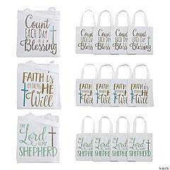 Small Religious Canvas Tote Bags