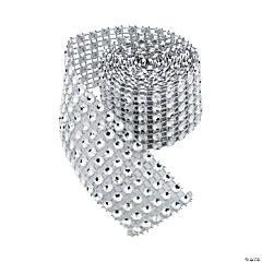 Small Silver Jewel Effect Rolls
