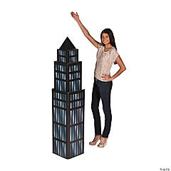 Small Skyscraper Cardboard Stand-Up