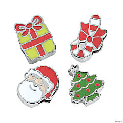 Small Slide Christmas Charms