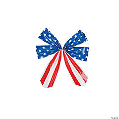 Small Stars & Stripes Bow