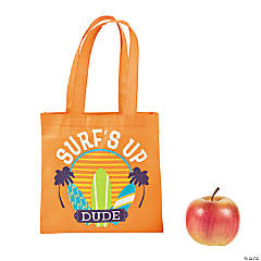 Small Surfboard Tote Bag