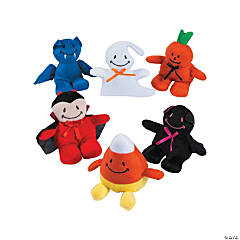 Smile Face Plush Monster Assortment