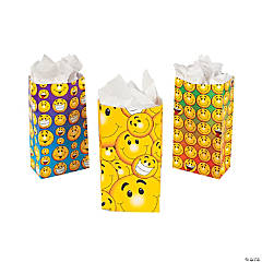 Smile Face Treat Bags
