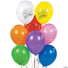 Smile! Jesus Loves You! Latex Balloons