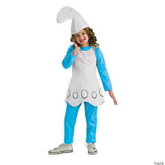 Smurfette Girl's Costume