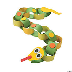 Snake Paper Chain Craft Kit
