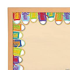Sneakers Wide Bulletin Board Borders
