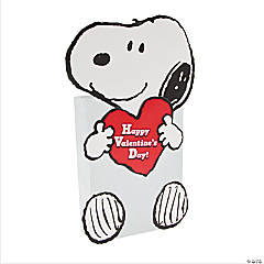 Snoopy Valentine Card Holder Craft Kit