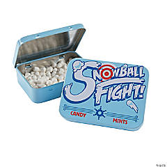 Snowball Mint Tins