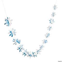 Snowflake 3D Garland