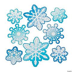 Snowflake Bulletin Board Cutouts