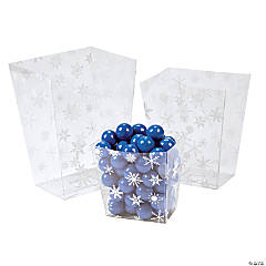Snowflake Candy Buckets