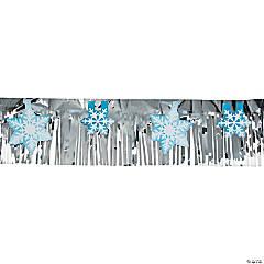 Snowflake Foil Banner