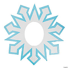 Snowflake Photo Prop