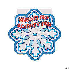 Snowflake-Shaped Activity Pads