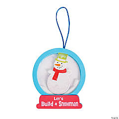 Snowglobe Ornament Craft Kit